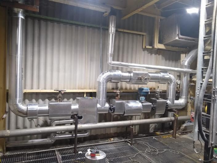 Isolamento térmico industrial