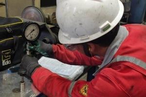 calibração de manômetro