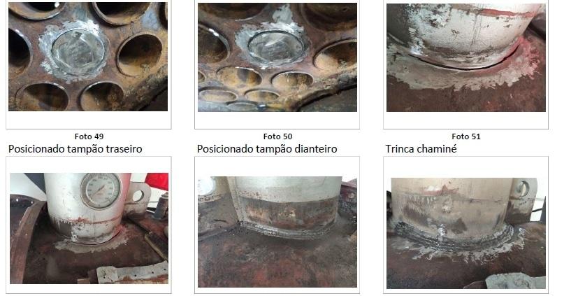 manutenção de caldeira