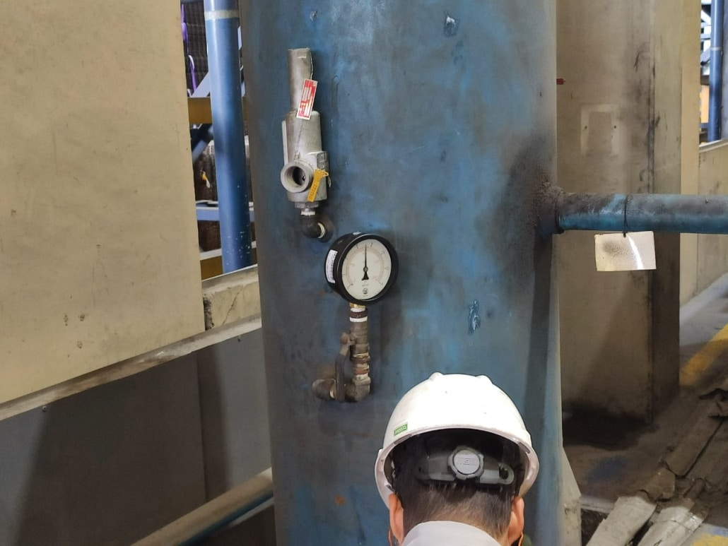 inspeção de vasos nr13