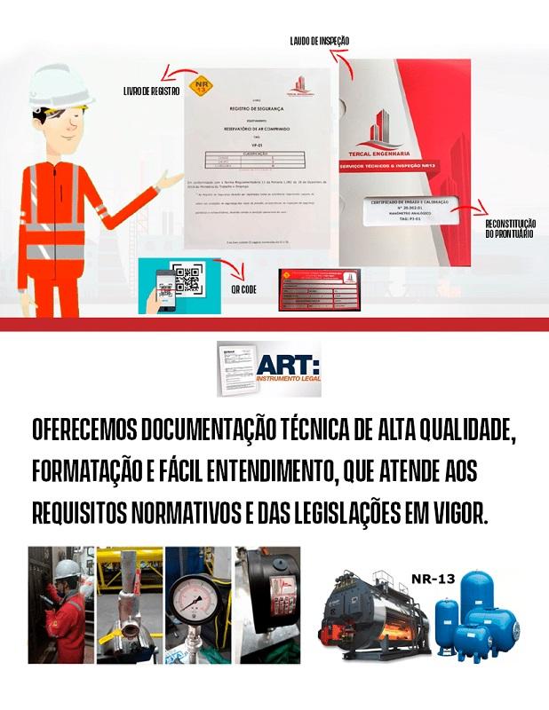documentos exigidos pela NR13