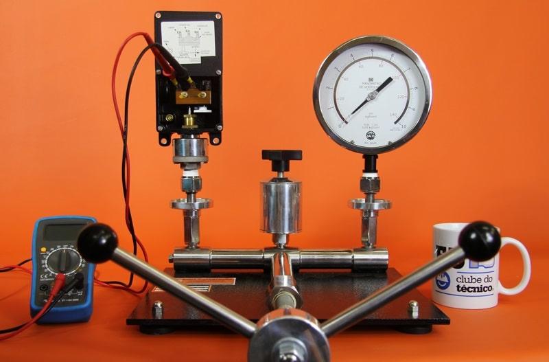 calibração de pressostato